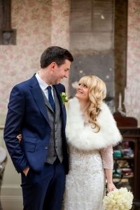 A winter wedding at Ballyseedy Castle Tralee county Kerry.