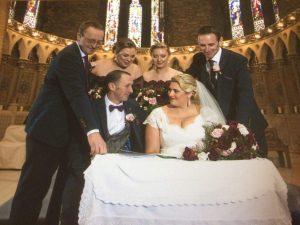 Dingle upstyle vintage wedding