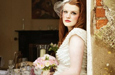 A wedding day in Dingle Co Kerry, a Rustic Ballintaggart house, wedding hairstyle.vintage inspired hair.